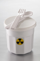 pot of radioactive food
