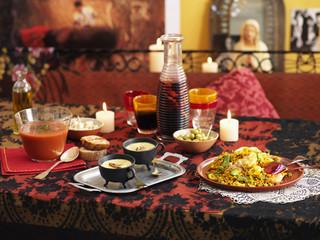 easter meal at seville