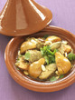 chicken,quince and almond tajine