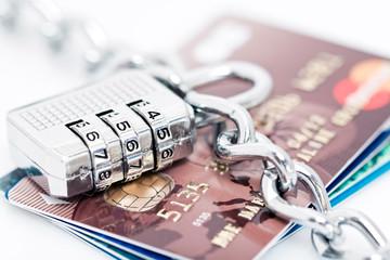 Cartes bancaires protégées