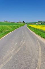 route dans la campagne