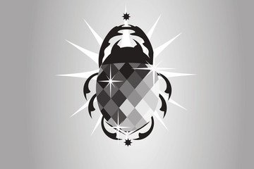 Skarabäus Black Diamond