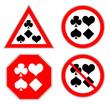 Poker Schilder