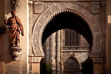 Detalle de la catedral de Sevilla