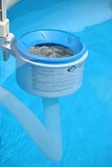 Filtro di superficie per piscine
