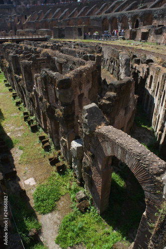 Colosseum, basement area below the arena