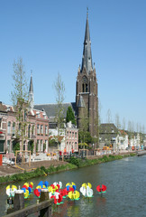 City of Weesp in the Netherlands