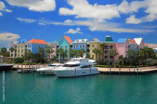 Tuinposter Centraal-Amerika Landen Atlantis Hotel in Bahamas