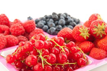 Fresh soft fruit