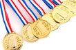 Medals for the winner
