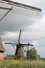 Windmills of Kinderdijk in Holland