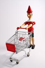 Pinocchio fa la spesa
