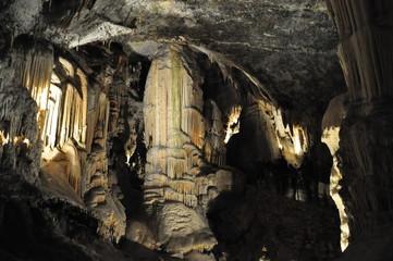 Cueva de Postojna en Eslovenia.