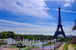 Tour Eiffel et jardins du Trocadéro