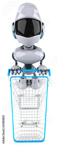 Robot et shopping