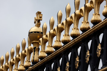 Detail of Buckingham Palace Gate