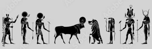Egyptian gods, goddess, creatures and demons - 24188818