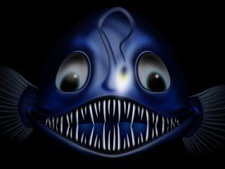 funny goosefish