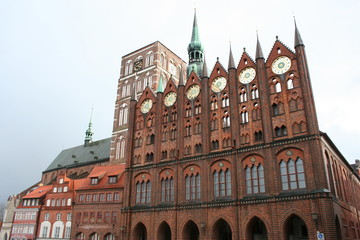 Stralsund in Germany