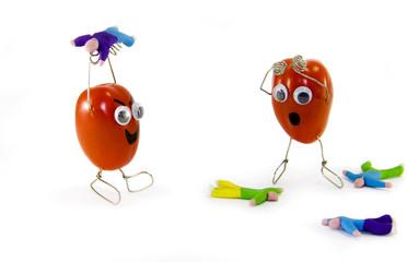 Tomato / human festival