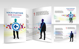 Fototapety brochure design