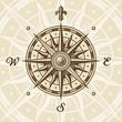 roleta: Vintage compass rose