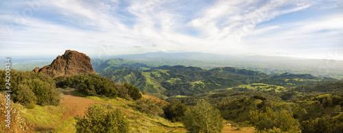 Widok z Mt Diablo