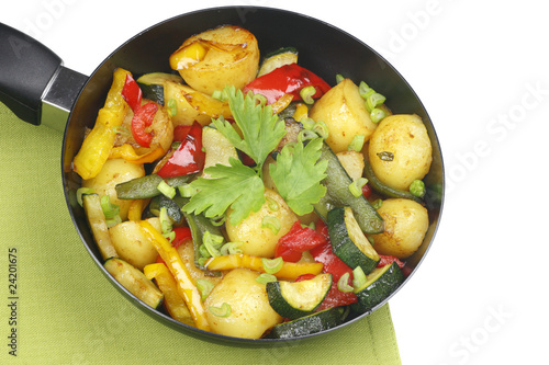 Fried vegetables