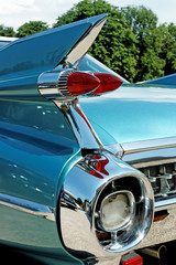 Wonderfull classic car tail