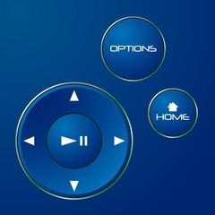 Navigation control buttons