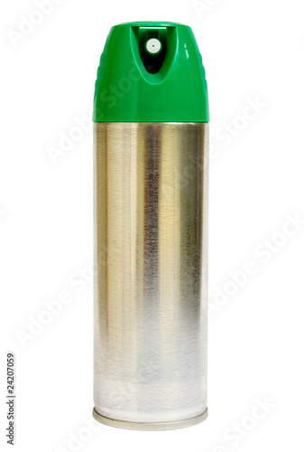 Aerosol Can with Clipping Path