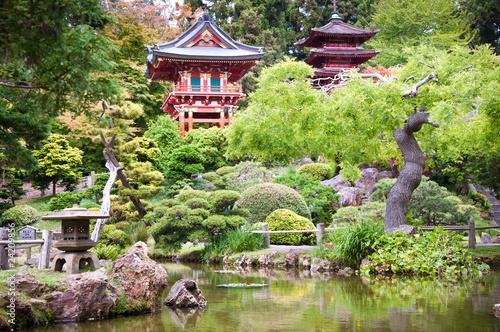 Japanese Tea Garden, Golden Gate Park, San Francisco - 24209856