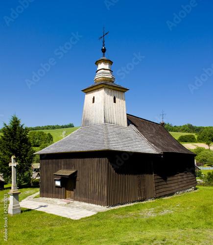wooden church, Krive Slovakia