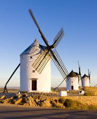 windmills, Consuegra, Castile-La Mancha, Spain