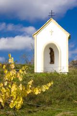 chapel near Hnanice, Znojmo Region, Czech Republic