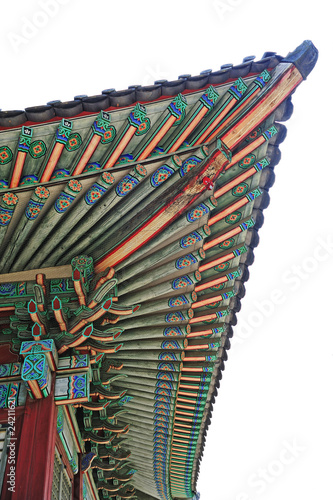 korean traditional palace roof