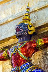 Guardian devil in Grand Palace in Bangkok