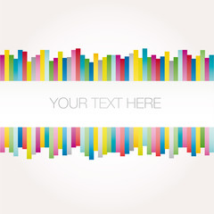 Background BANNER abstract with SAMPLE TEXT