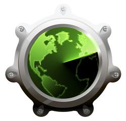 Sonar scope. Vector