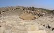 The ruins of the ancient amphitheater. Turkey, Side