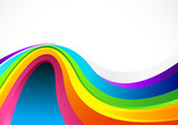 Flowing Colour Background