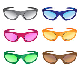 much colors sunglasses