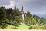 Peles Castle, Sinaia, the former kingdom residence in Romania poster