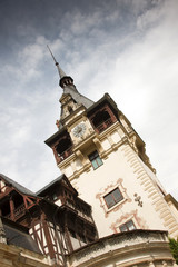 Peles Castle, Sinaia, the former kingdom residence in Romania