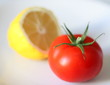 lemon and tomatoe