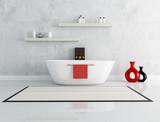 Fototapety elegant modern bathroom