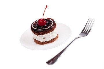 cake with cherry