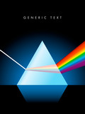 Fototapety Vector Glass Prism