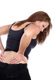 Woman Spinal Injury poster