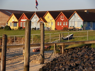 Häuser auf Amrum